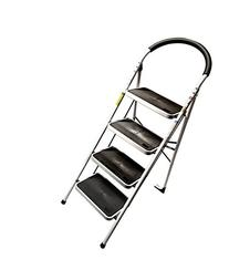 4 Step Ladder Lightweight Folding Stool Heavy Duty