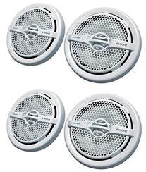 """Sony 4 XS-MP1611 6.5"""" 280 Watt Dual Cone Marine Speakers"""