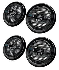 "4) Sony XS-MP1611b 6.5"" 280 Watt Dual Cone Marine Speakers"