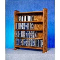 4 Shelf CD Storage