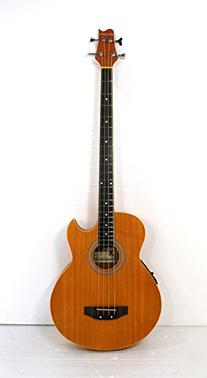 4 String Acoustic Electric Cutaway Bass Guitar