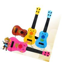 Syeer 4 Strings Musical Plastic Toy Ukulele Small Guitar For