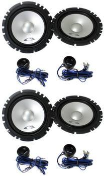 "4 Alpine SXE-1750S 6.5"" 560W Car 2 Way Component Audio"
