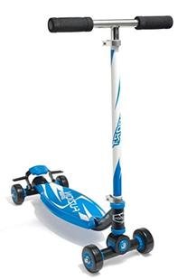 Fuzion 4 Wheel Sport Scooter, Blue