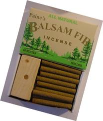 40 Balsam Sticks and Holder - Paine's Fir Balsam Incense