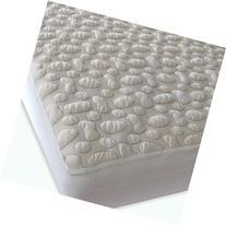 40-Winks Organic Cotton Pebble Puff Crib Mattress Pad