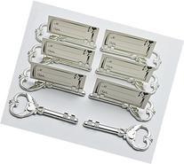 40pcs Multi Function Silver Bottle Opener and Place Card