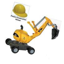 Kettler 421015 CAT Digger with Yellow Plastic Construction