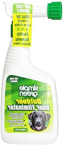 SIMPLE GREEN 432107 Outdoor Odor Elim Trigger for Pets, 32-