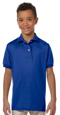 Youth Jersey Polo with SpotShield - Gold - S