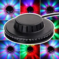 AGPtek® 48 RGB LED Voice-Activated Stage Lighting Disco Bar