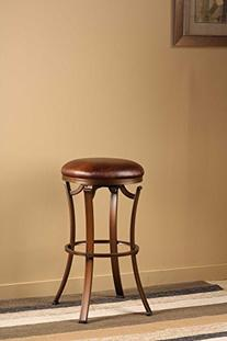 Hillsdale 4950-830 Kelford Backless Swivel Bar Stool,