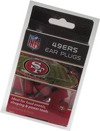 49ers Earplugs 6 Pair 3 Pack