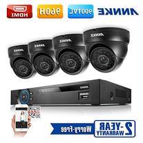 ANNKE 8CH HD-TVI Security Camera System 1080P Lite DVR