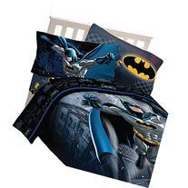 4pc DC Comics Batman Twin Bedding Set Guardian Speed