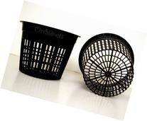 5 Inch Round Orchid/Hydroponics Slotted Mesh Net Pot - 10