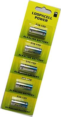 5 Loopacell A23 Replacement Batteries for Heath Zenith SL-