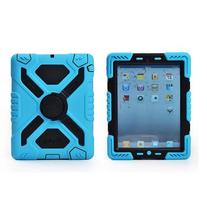 Pepkoo Ipad 5/air Silicone Plastic Protective Dual Layer
