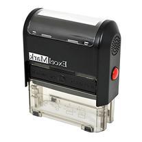 ExcelMark 5-Line Large Return Address Stamp - Custom Self
