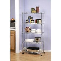 Seville Classics 5-Shelf Home-Style Shelving, SHE14305