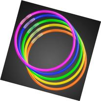 "50 22"" Premium Glow Stick Necklaces Assorted Colors"