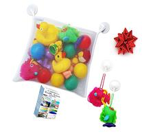 Premium Bath Toy Organizer - Large Storage Net Bag for