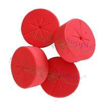 50 PACK RED - NEW SPOKE DESIGN - Red Net Pot Cloning Collars