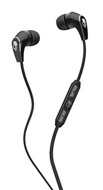 Skullcandy 50/50 Earbuds with Mic Black