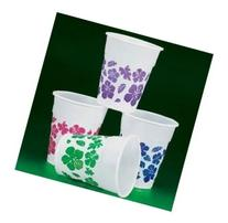 Fun Express 50 Plastic Hibiscus Drink Cups Luau Party Decor/