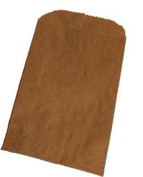 "500 Natural Kraft Merchandise Bags, 12""x2-3/4""x18"" Tall"