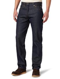 Levi's Men's 501 Original Shrink To Fit Jean, Rigid STF,