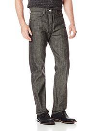 Men's 501 Shrink To Fit Jean, Black Crispy Neppy STF, 42x30