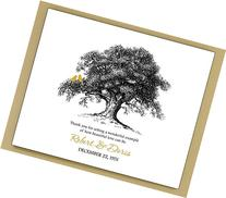50th Wedding Anniversary Gift for Parents Grandparents,