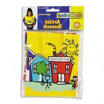 Chenille Kraft 5207 Kraft Artist Smock- Fits Kids Ages 3-8-
