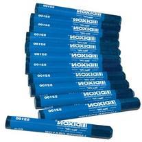 Dixon 52100 Industrial Lumber Crayon - Blue - 12 per Package