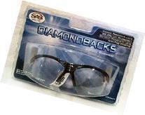 SAS Safety 540-0210 Diamondback Eyewear with Clamshell,