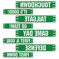 Beistle 54674 Football Street Signs Cutouts Pack Of 12