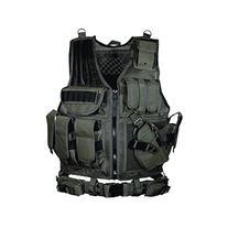 UTG 547 Law Enforcement Tactical Left  Handed Vest, Black