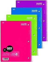 Bazic 5-Subject Spiral Notebook
