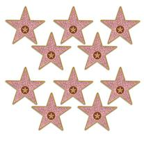 "Beistle 58048 Mini ""Star"" Cutouts, 5"", Multicolor"