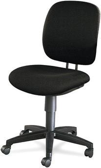HON 5901AB10T Comfortask Task Swivel Chair, Black
