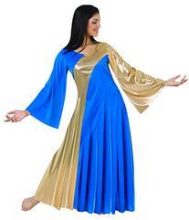 Body Wrappers 592 / 592XX Womens Praise Dance Metallic