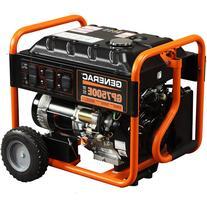 Generac 5943 GP7500E, 7,500 Watt Portable Gas Powered