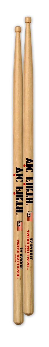 Vic Firth 5ABRL American Classic 5A Sticks w/ Wood Barrel