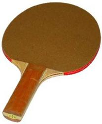 5-Ply Sandpaper Face Table Tennis Paddles - Set of 4