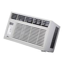 LG 6,000 BTU 115V Window-Mounted AIR Conditioner with Remote