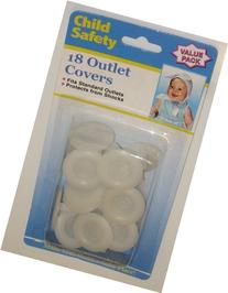 6 Each: Child Safety Outlet Plugs
