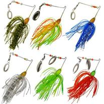6 Fishing Hard Spinner Lure Spinnerbait Pike Bass 18g/0.63oz