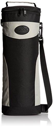6-To-Go Zippered Beverage Cooler with Shoulder Strap, and