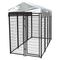 Heavy Duty Dog Cage – Lucky Dog Outdoor Pet Playpen –